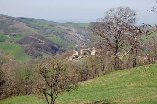 il territorio in cui si trova la falegnameria Onfiani